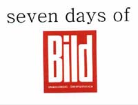 Seven days of Bild - Cover