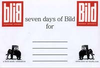 Seven days of Bild - envelope