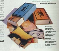 Fluxus Zeit Puzzle in MAX February 1998