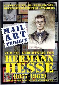 Mail Art Project All about Hermann Hesse Katalog Cover